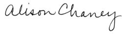 Cheney Signature